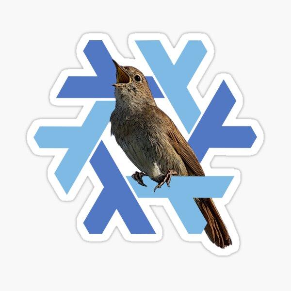 Nixos 20.09 Nightingale Sticker