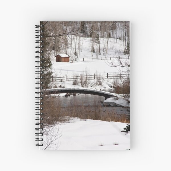 Roaring Fork Bridge Spiral Notebook