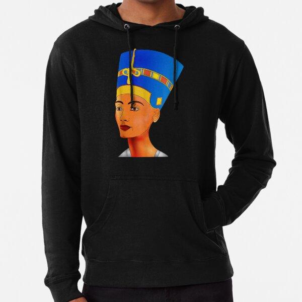 Queen Pharaoh Egyptian Queen Nefertiti Lightweight Hoodie