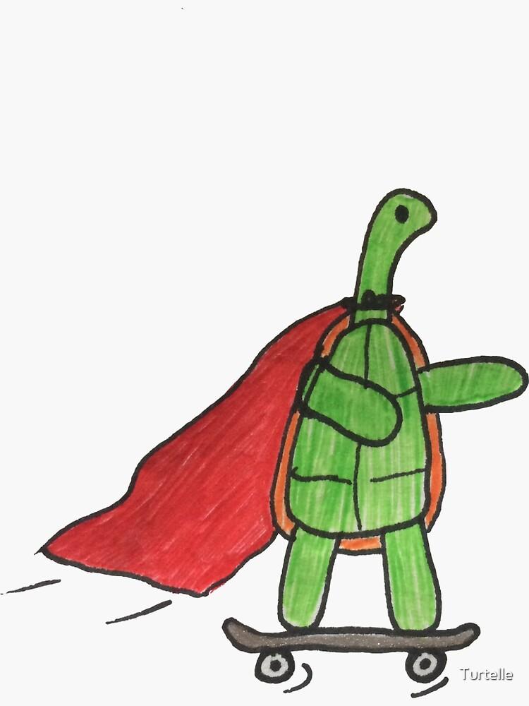 Skateboard Turtle by Turtelle