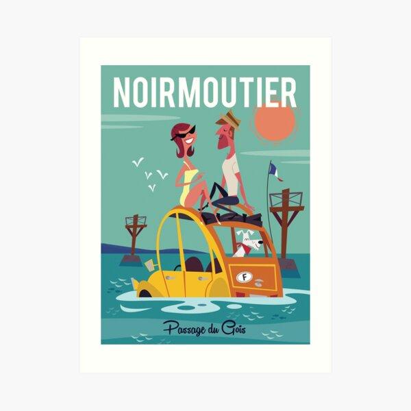 Noirmoutier poster Art Print