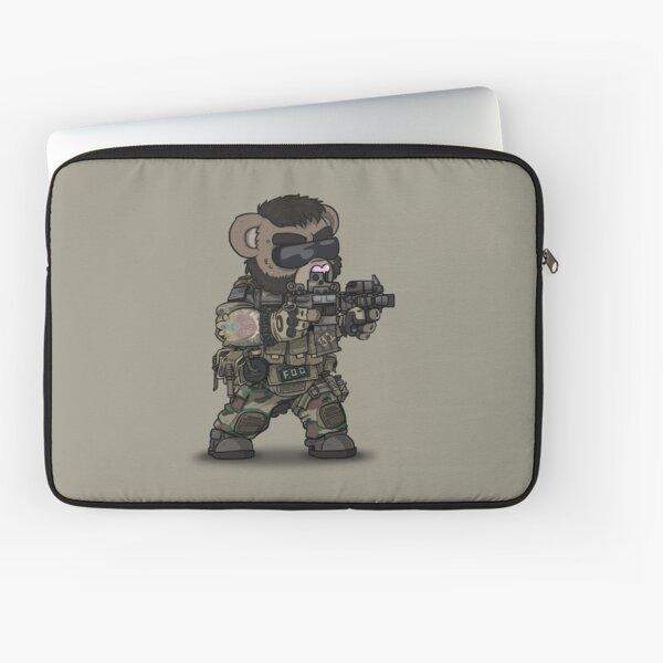 FOO-BEAR (Tan) Laptop Sleeve