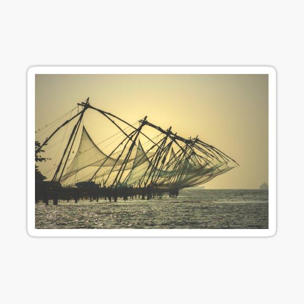 Chinese Fishing Nets Sticker