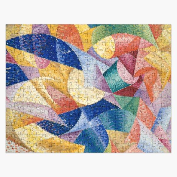 #Artist, #painter, #craftsman, #Gino #Severini, #futurism, #futurist, #art, #GinoSeverini Jigsaw Puzzle