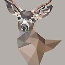 brown deer by roxycolor