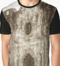Mission San Jose Facade Graphic T-Shirt