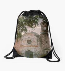 Mission San Jose in San Antonio Drawstring Bag