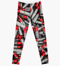 Lipstick chrome Leggings