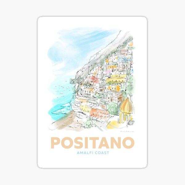Positano Amalfi Coast Sticker