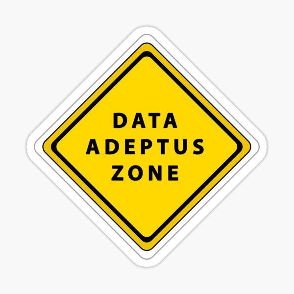 Data Adeptus zone Sticker