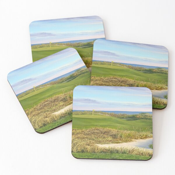 Dawn at The Ocean Course Coasters (Set of 4)
