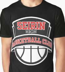 Seirin High - Basketball Club Logo Graphic T-Shirt