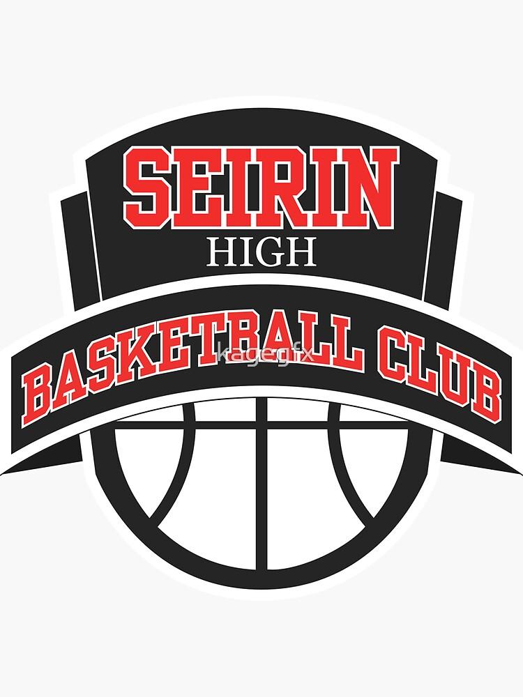 Seirin High - Basketball Club Logo by kagegfx