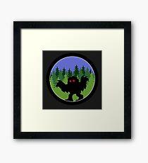 Mothman by Twilight Framed Print