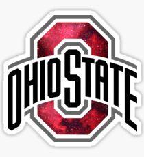 Ohio State Galaxy Sticker