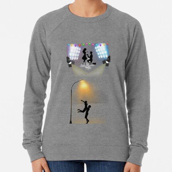 Romantic couple Lightweight Sweatshirt
