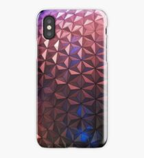 Spaceship Earth at Night iPhone Case