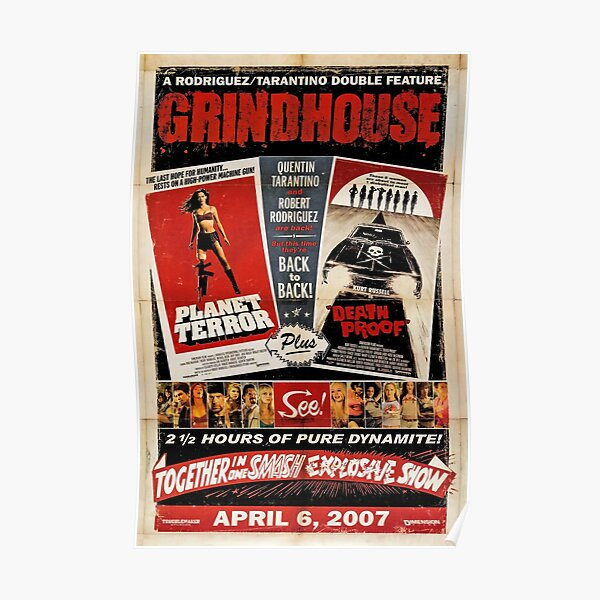 Grindhouse 1 (HD) Póster
