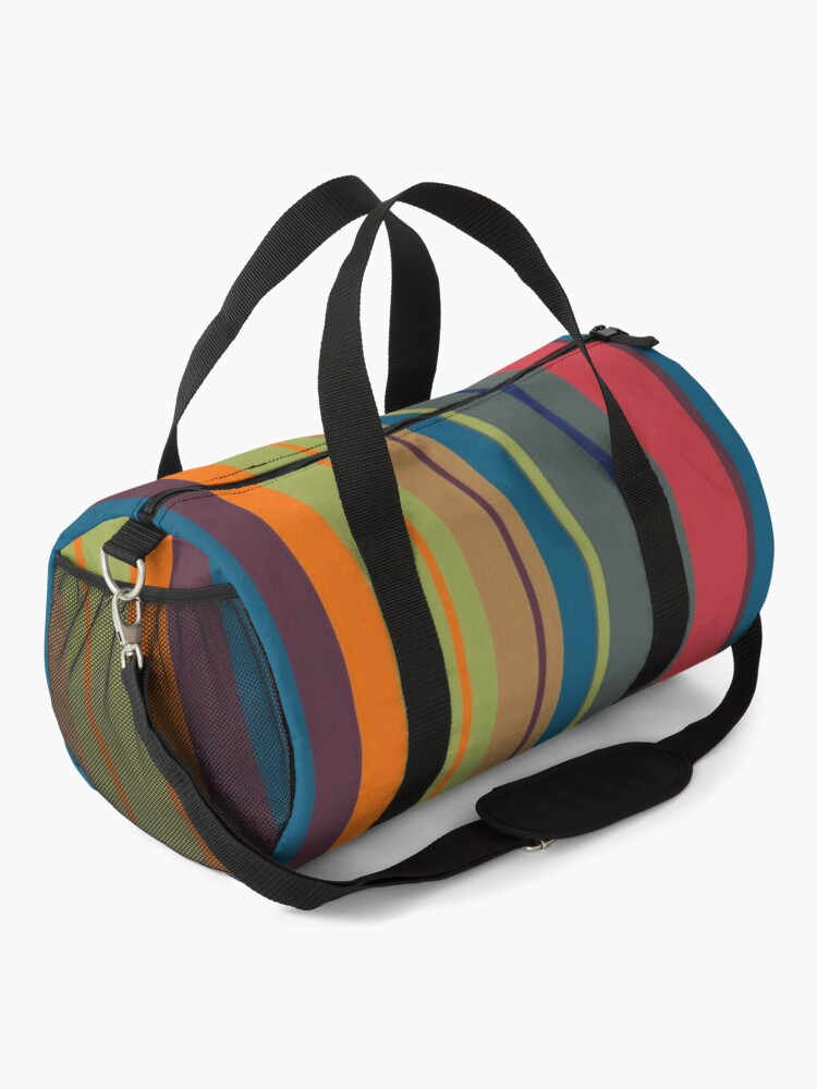 Alternate view of  Playful lines Duffle Bag
