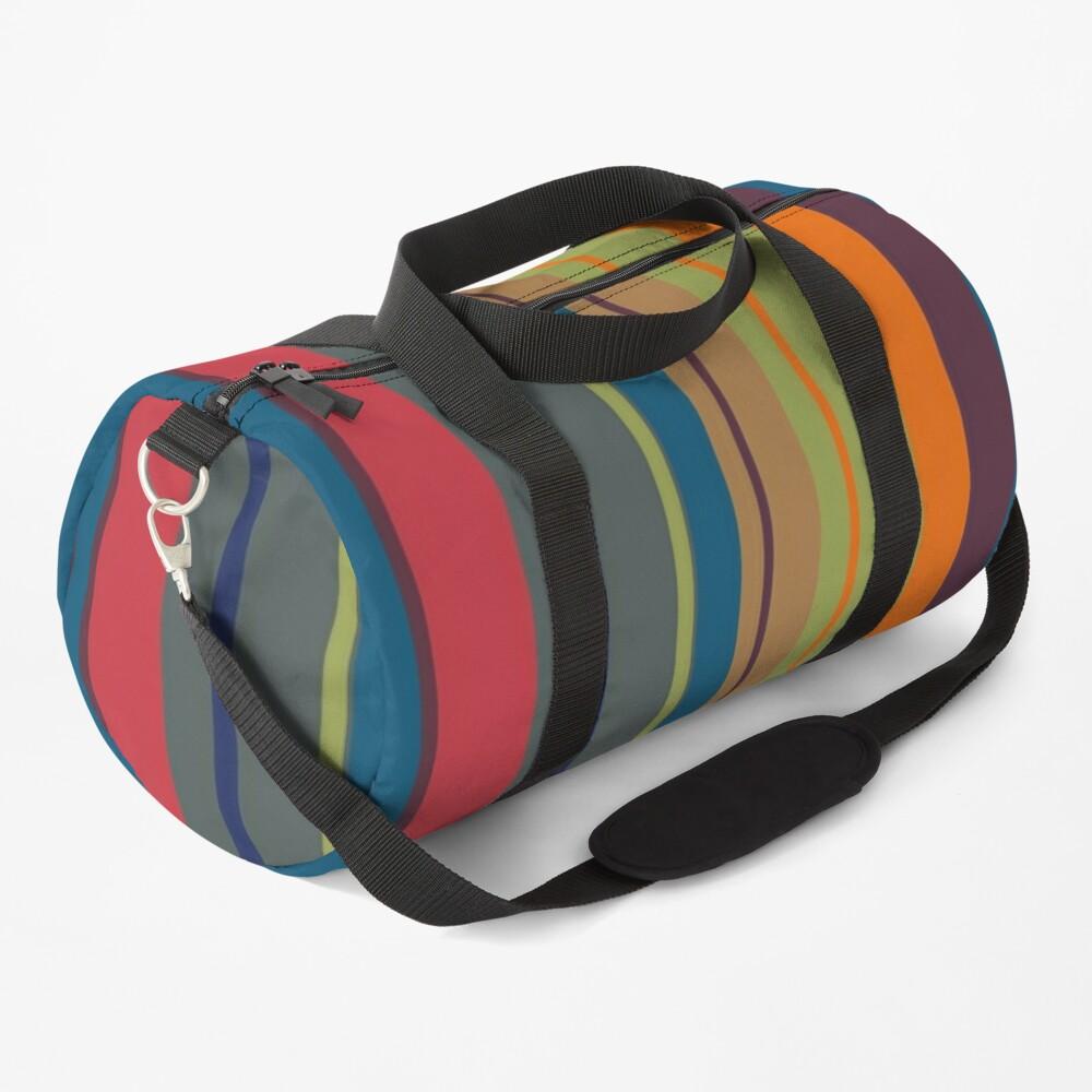 Playful lines Duffle Bag