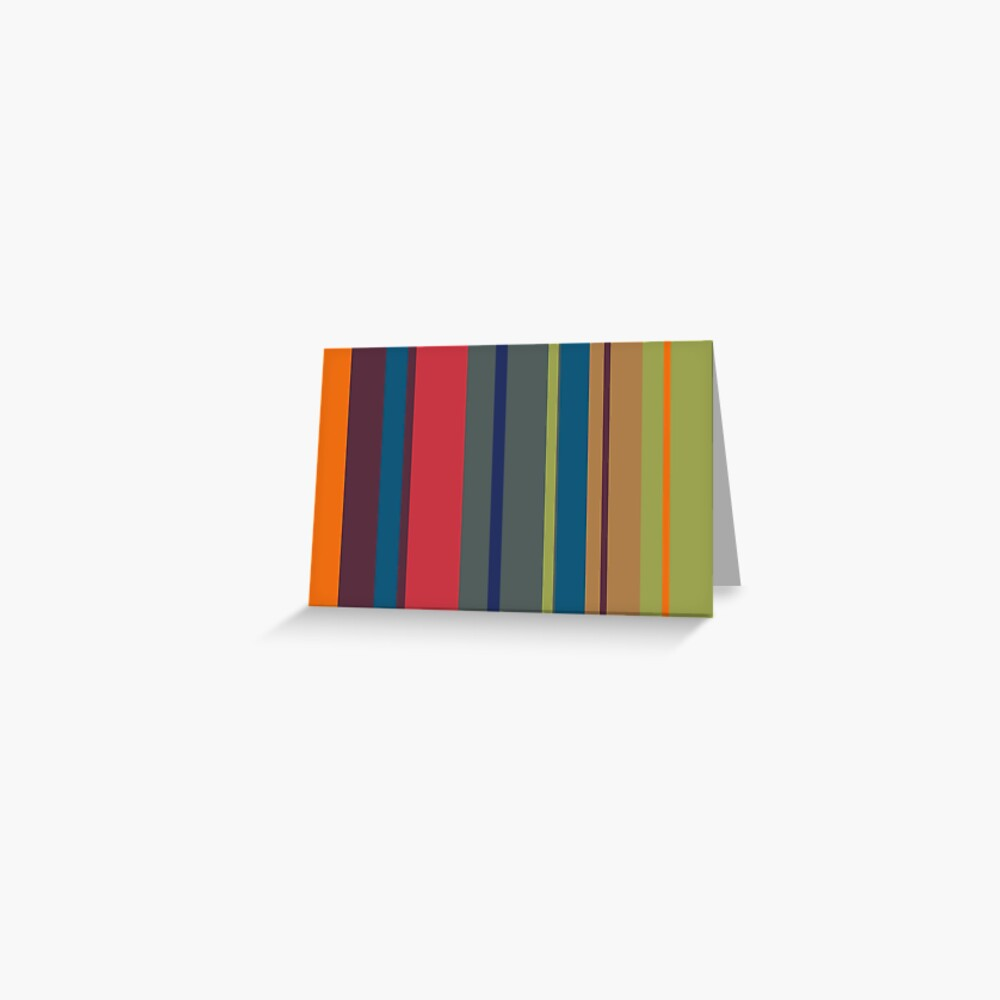 Playful lines Greeting Card
