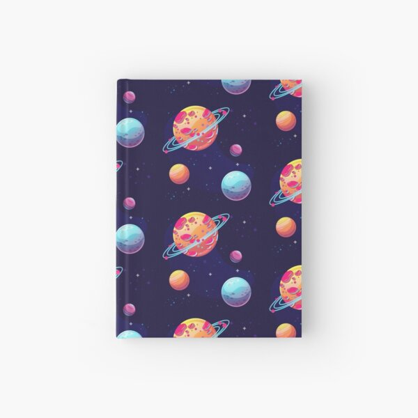 Planets in Space Hardcover Journal