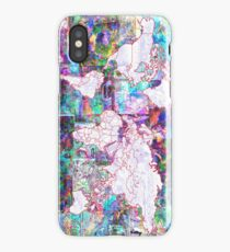 world map collage 3 iPhone Case/Skin