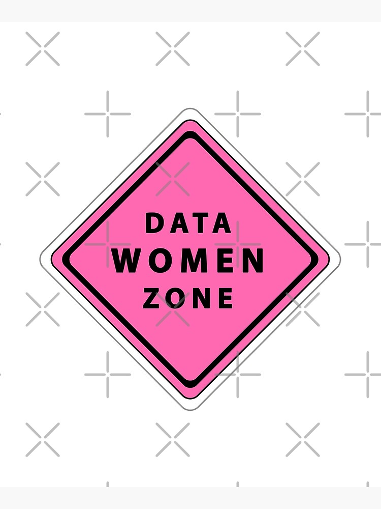 Data woman zone by karinkasvit