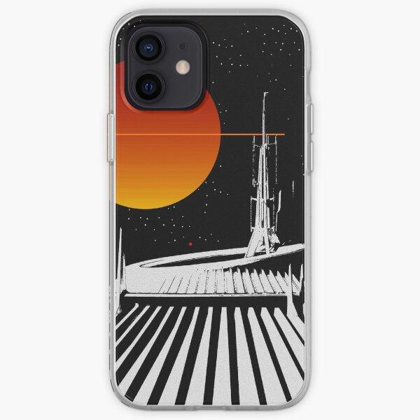 Space mountain fine art work A iPhone Soft Case