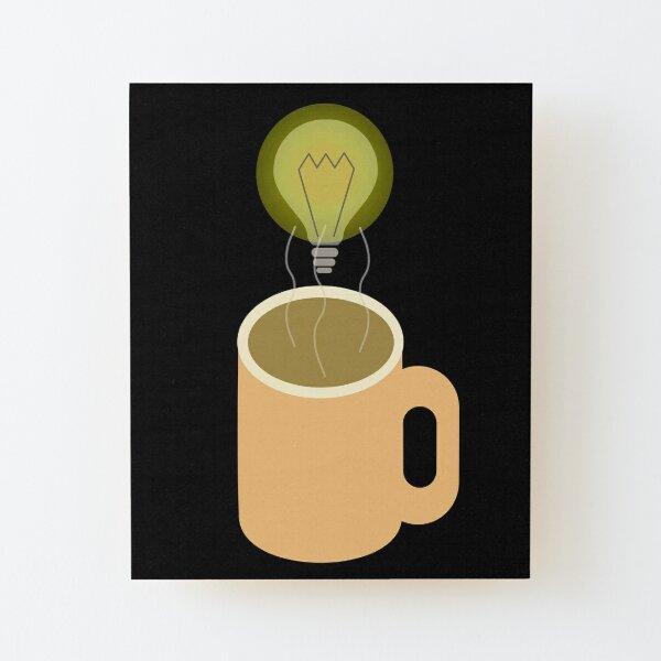 Morning Mug Wood Mounted Print