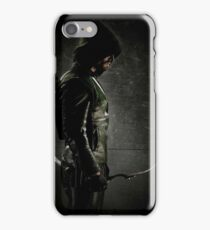 Green arrow TV iPhone Case/Skin