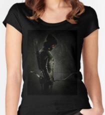Green arrow TV Women's Fitted Scoop T-Shirt