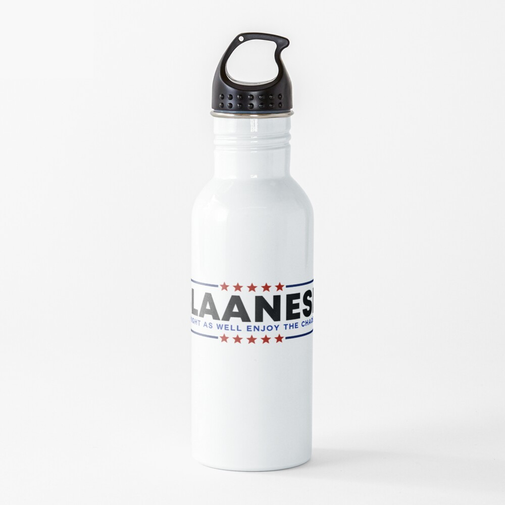 VOTE SLAANESH [classic red and blue] Water Bottle