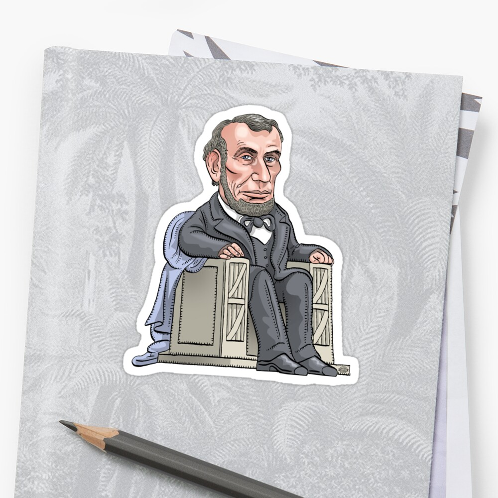 President Abraham Lincoln by MacKaycartoons