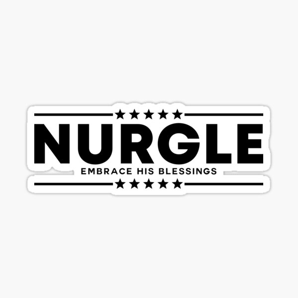 VOTE NURGLE [black] Sticker