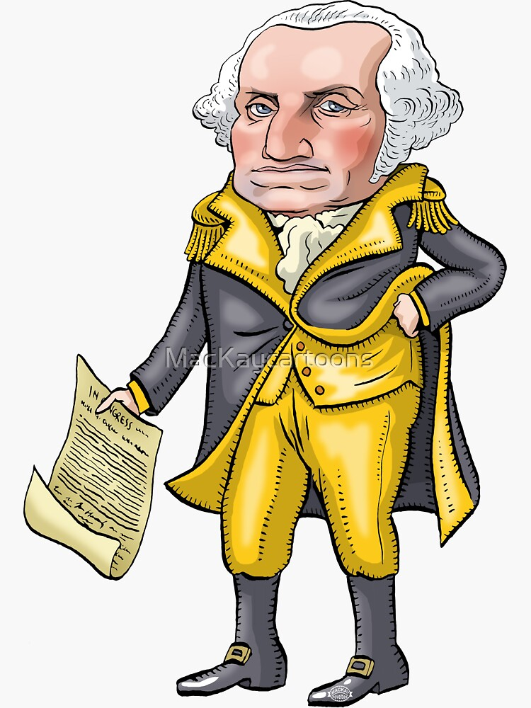 George Washington by MacKaycartoons