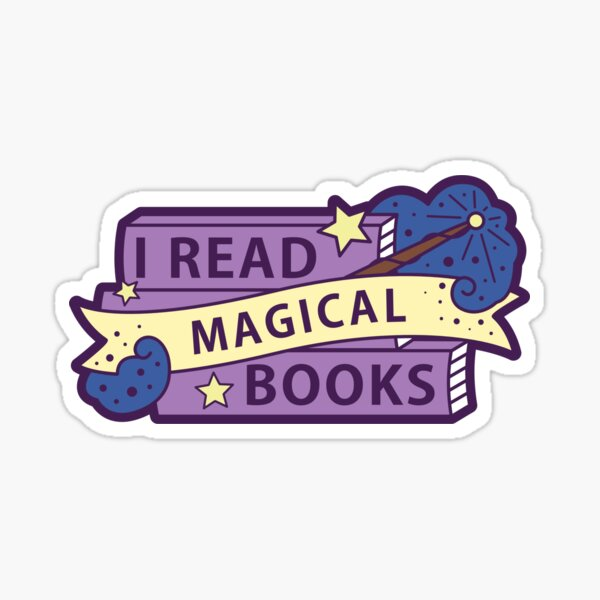 I read MAGICAL books Sticker