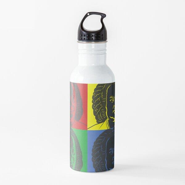 Johann Sebastian Bach im Warhol Style Trinkflasche