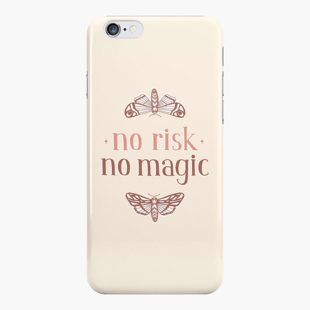 No Risk No Magic iPhone Case & Cover