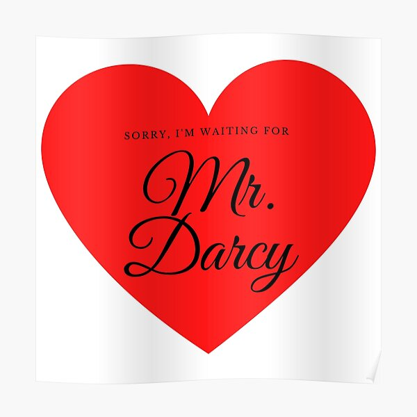 Waiting for Mr. Darcy Poster