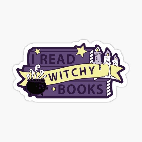 I read WITCHY books Sticker