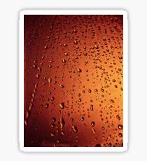 Rain drops  (abstract) Sticker