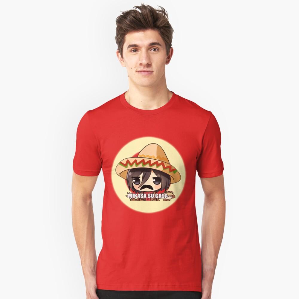 Mikasa Su Casa  Camiseta ajustada