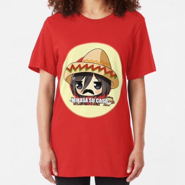 Mikasa Su Casa  Slim Fit T-Shirt
