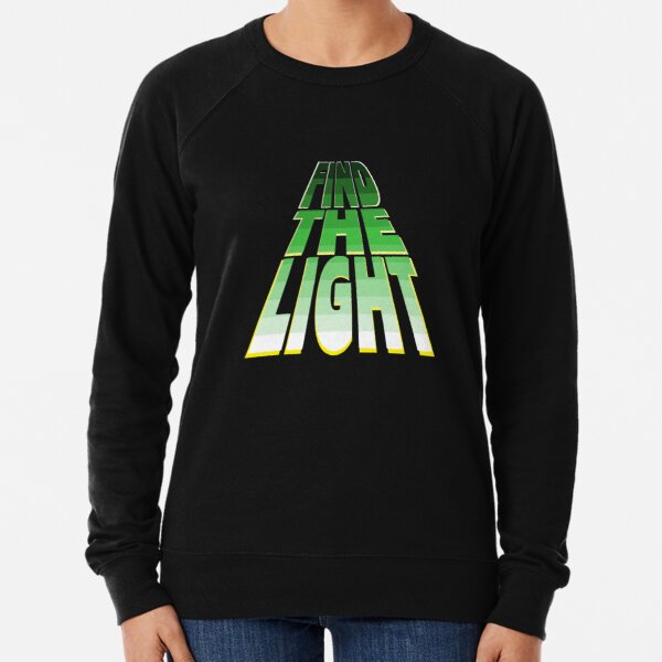 Find the Light - Green. Lightweight Sweatshirt