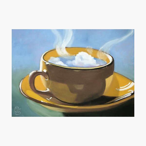 Coffee clouds Photographic Print
