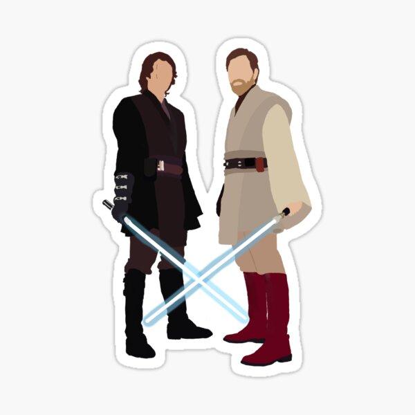 Ani and Obi Sticker