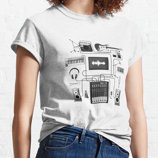 Music Producer Scheme Classic T-Shirt