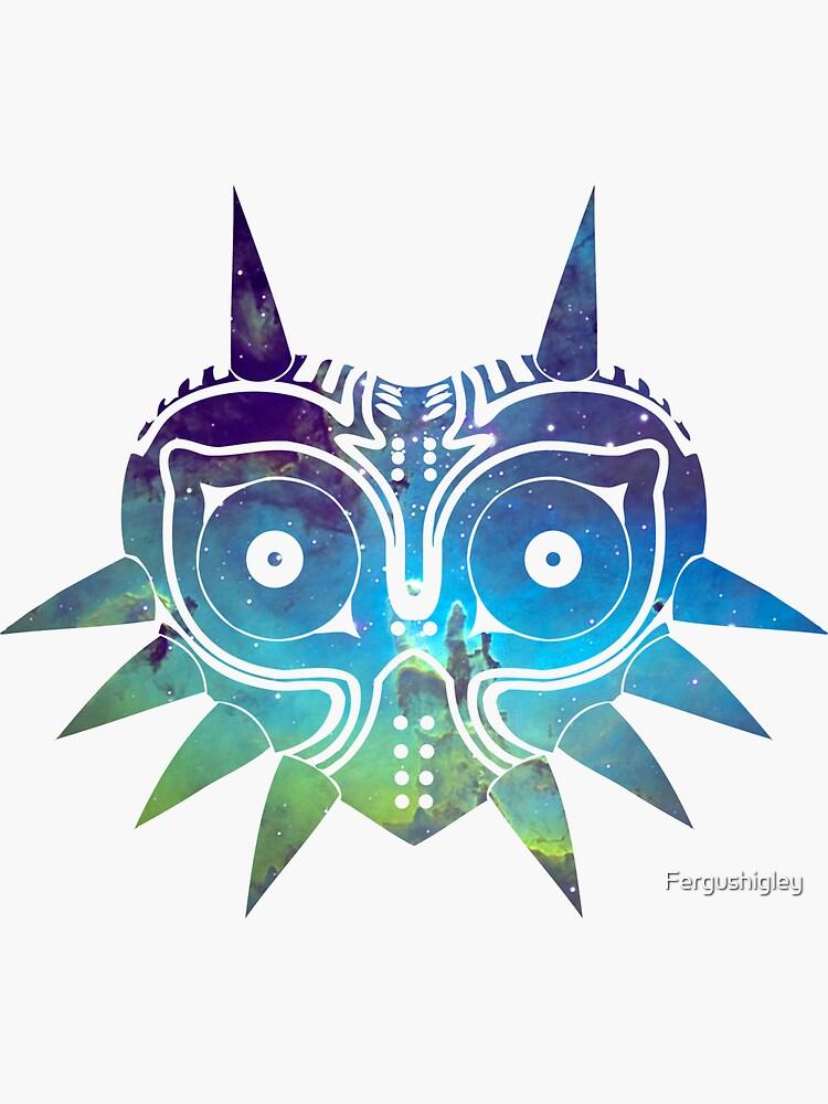 Máscara Galaxy Majora de Fergushigley
