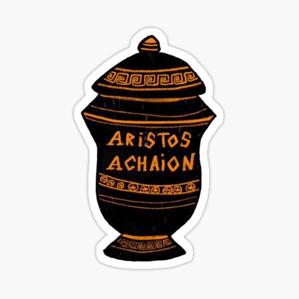 Ancient Greek Aristos Achaion Vase Achilles Sticker